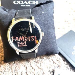 COACH Jean-Michel Basquiat Men's Watch